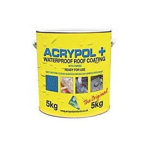 Acrypol+ Medium  Grey 5Kg for leaks on flat roofs