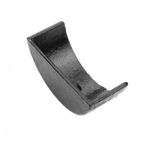 Cast Iron Half Round Stop Ends - External Left/Right Hand