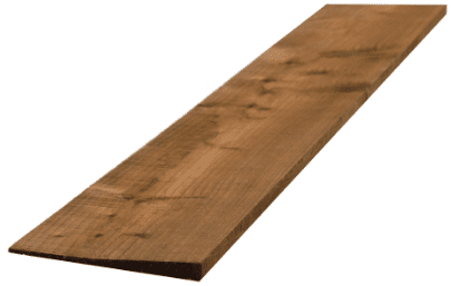 Feathered Edge Fence Slat Treated Brown  22x150mm 1.8mtr