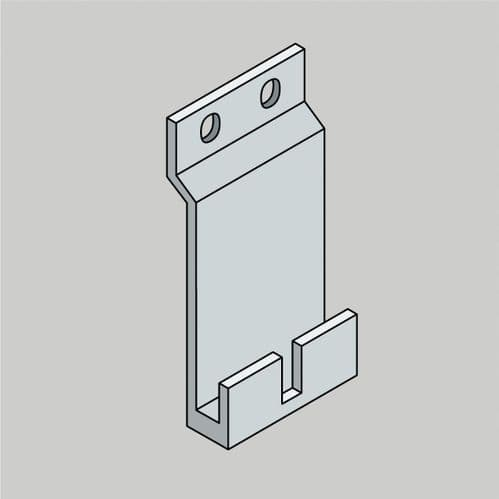 HD Clad Pro Composite Cladding Starter Clip - Packed in boxes of 50