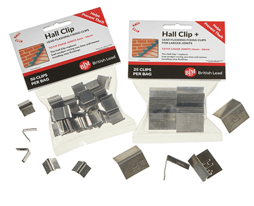 Lead Flashing Fixing Clip pack of 50 (Hall Clips)