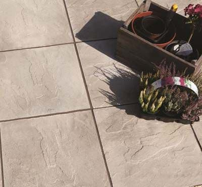 PEAK TRADITIONAL RIVEN NATURAL PAVING 600x600x35mm