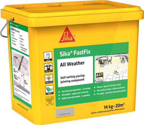 SIKA FAST FIX PAVING JOINTING COMPOUND DARK BUFF OR DEEP GREY
