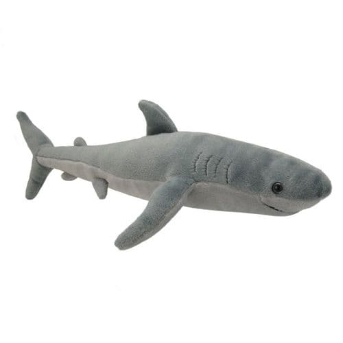 All About Nature Great White Shark - Wild Planet Stuffed Toy