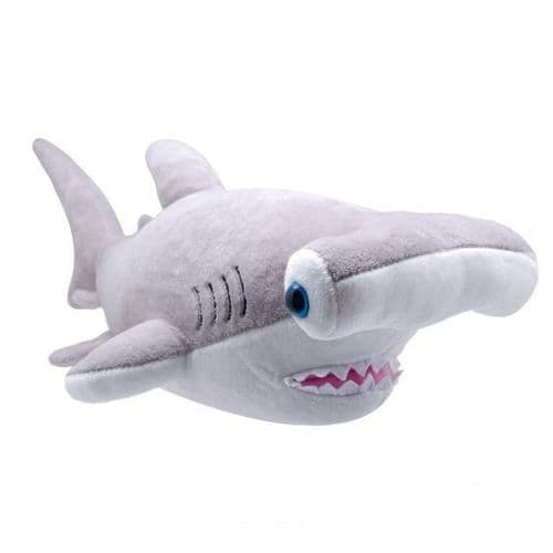 All About Nature Hammer Head Shark - Wild Planet Stuffed Toy