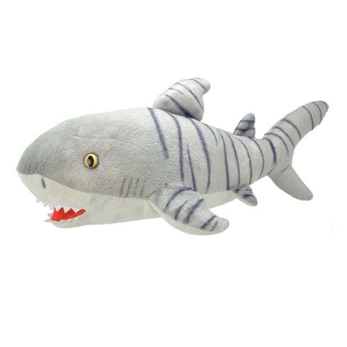 All About Nature Tiger Shark - Wild Planet Stuffed Toy