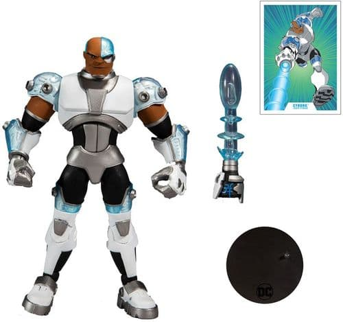 DC Multiverse Animated- Cyborg  - 7 Inch Action Figure