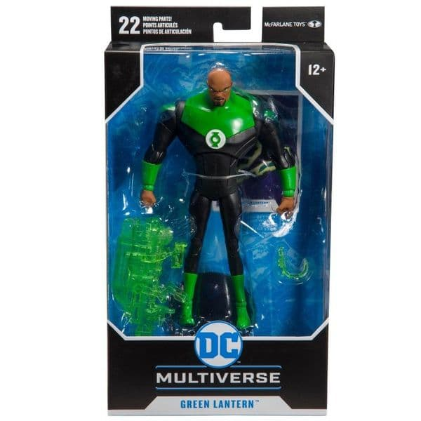 DC Multiverse Animated- Green Lantern Justice League - 7 Inch Action Figure