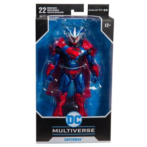 DC Multiverse Armoured - Superman Unchained - 7 Inch Action Figure 15602-7