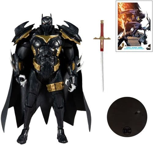 DC Multiverse Azrael in Batman Armour  - 7 Inch Curse of the White Knight Action Figure