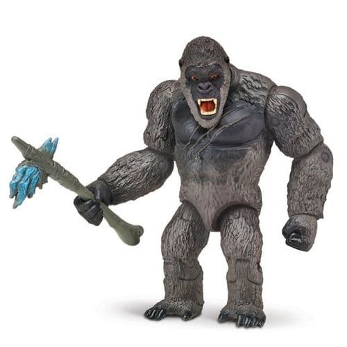 Godzilla vs Kong 15cm Kong with Battle Axe - Monsterverse Hallow Earth Action Figure