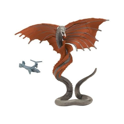 Godzilla vs Kong 15cm Warbat with Osprey - Monsterverse Hallow Earth Action Figure