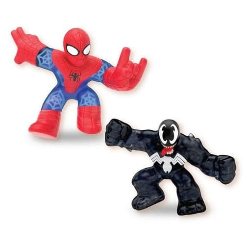 Heroes of Goo Jit Zu Marvel Versus 2 Pack- Spiderman Vs Venom