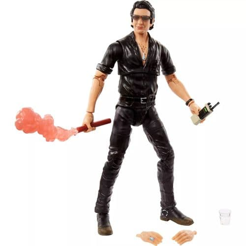 Jurassic World Amber Collection Dr. Ian Malcolm - Jurassic Park Action Figure