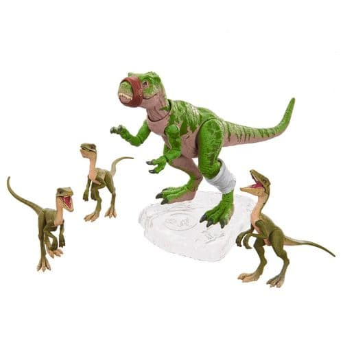 Jurassic World Amber Collection Infant T-Rex & Compsognathus