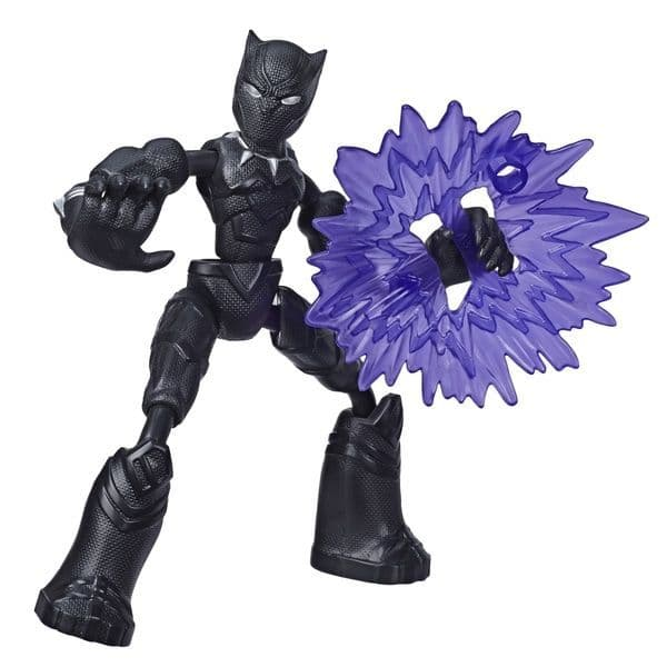Marvel Avengers Bend and Flex Black Panther - Bendable Action Figure
