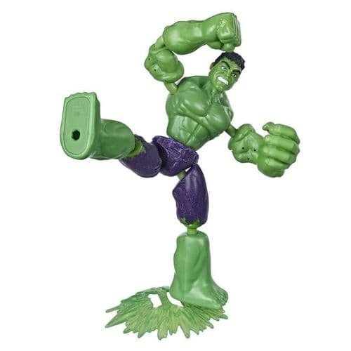 Marvel Avengers Bend and Flex Hulk - Bendable Action Figure