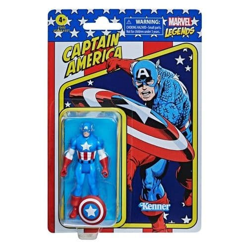 Marvel Legends Retro Recollect Captain America