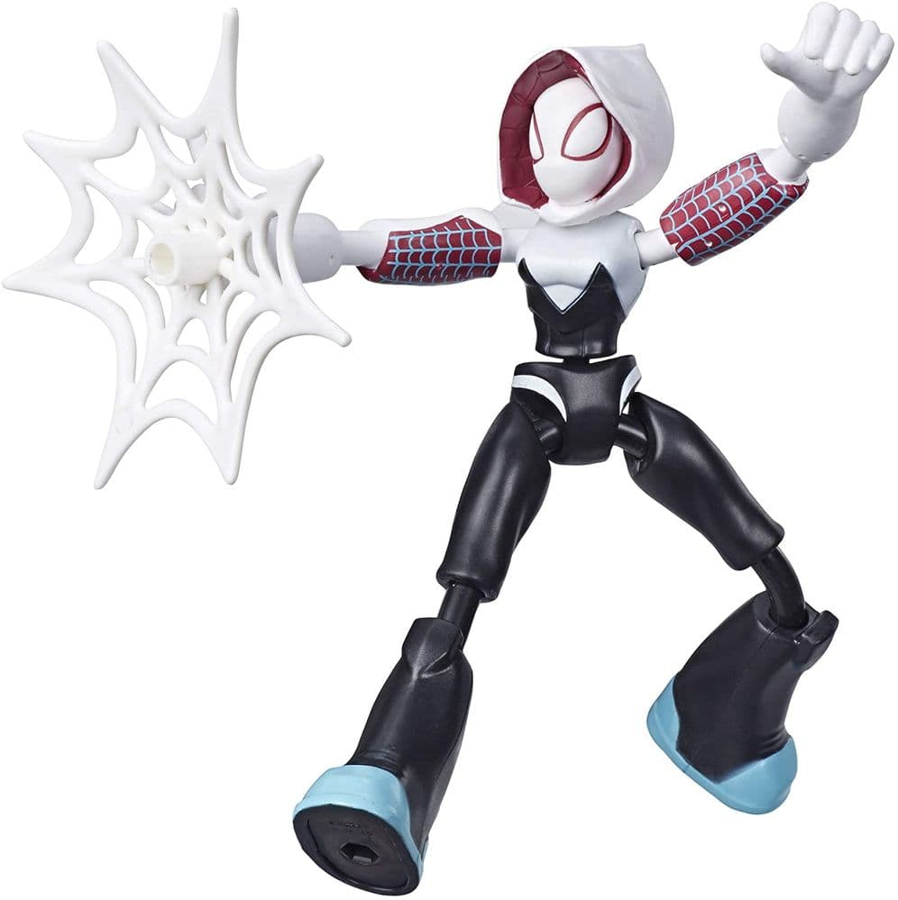 Marvel Spider-Man Bend and Flex Ghost-Spider - Bendable Action Figure