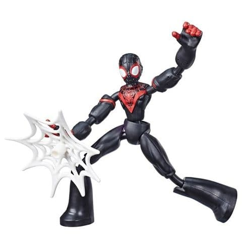 Marvel Spider-Man Bend and Flex Miles Morales - Bendable Action Figure