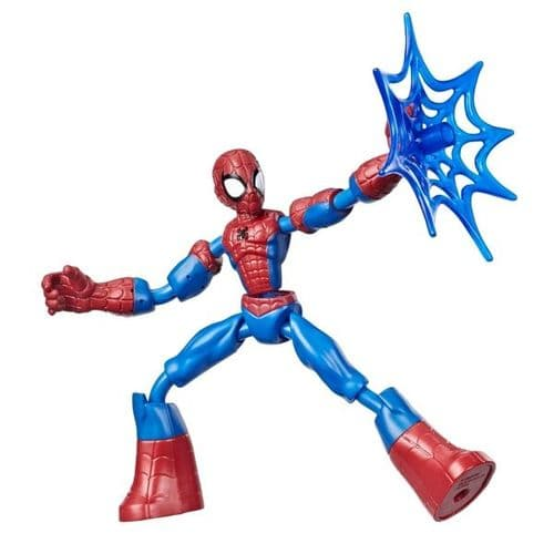Marvel Spider-Man Bend and Flex Spider-Man - Bendable Action Figure