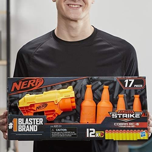 Nerf Alpha Strike Cobra RC-6 - Target Shooting Set - E7857