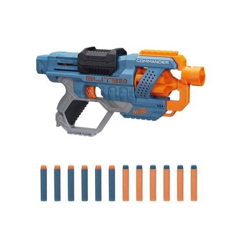 NERF Elite 2.0 Commander RD-6 - Blaster + 12 Darts
