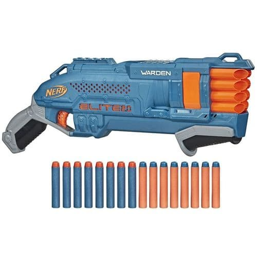NERF Elite 2.0 Warden DB-8 - Blaster + 16 Darts