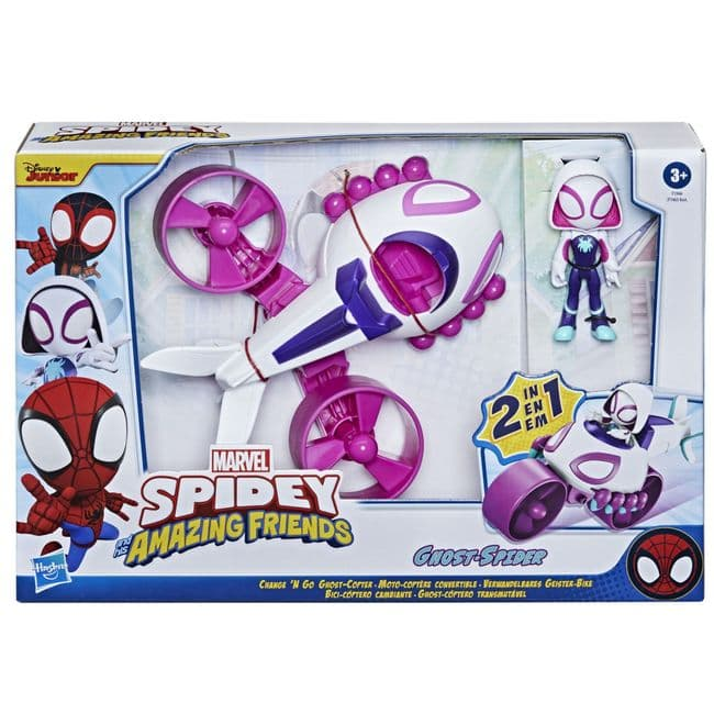 Spidey & His Amazing Friends Ghost-Spider 2 in 1 Ghost Copter