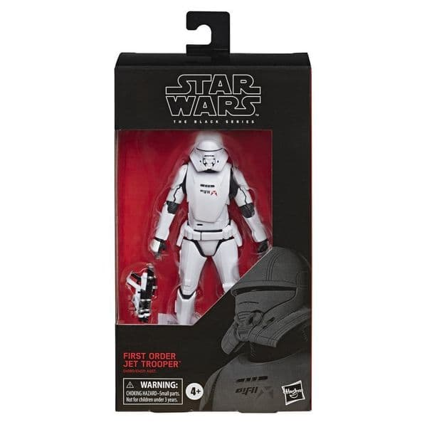 Star Wars The Black Series: The Rise Of Skywalker - First Order Jet Trooper E4080