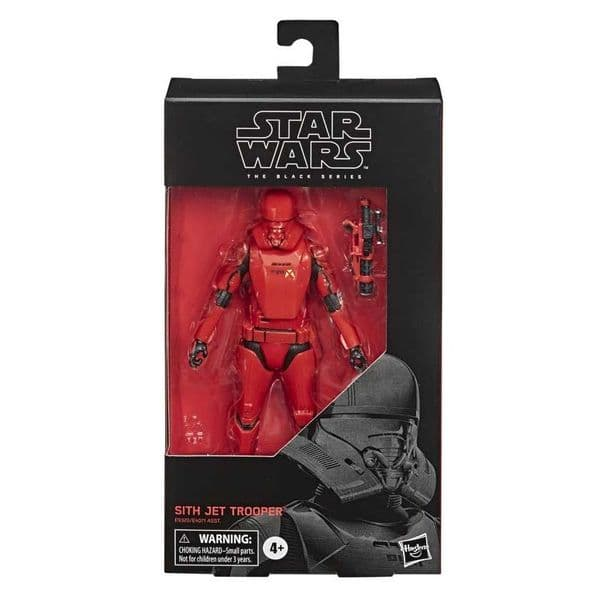 Star Wars The Black Series The Rise of Skywalker Sith Jet Trooper 6 Inch Action Figure