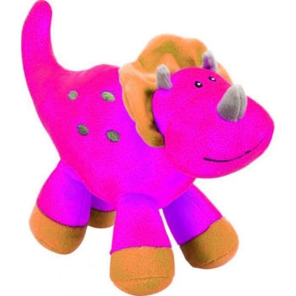 Super Soft Plush Triceratops Pink