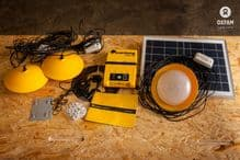 Solar Home Lighting & Power Kit