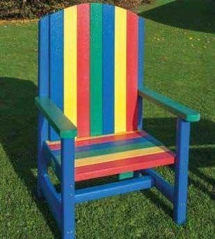 Recycled Story Time Chair