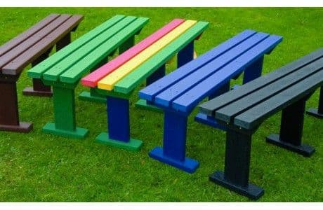 Recycled Sturdy Bench
