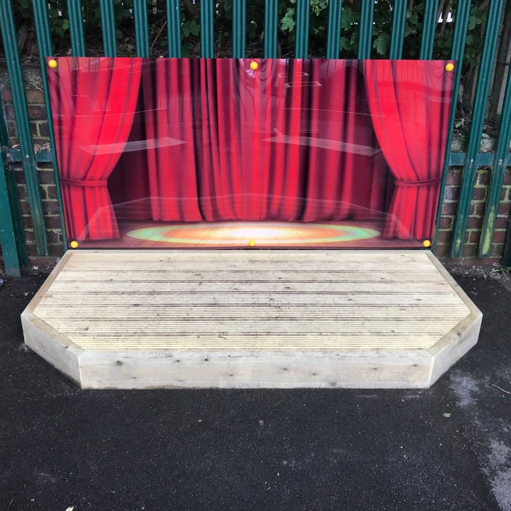 Wooden Stage / Performance Area
