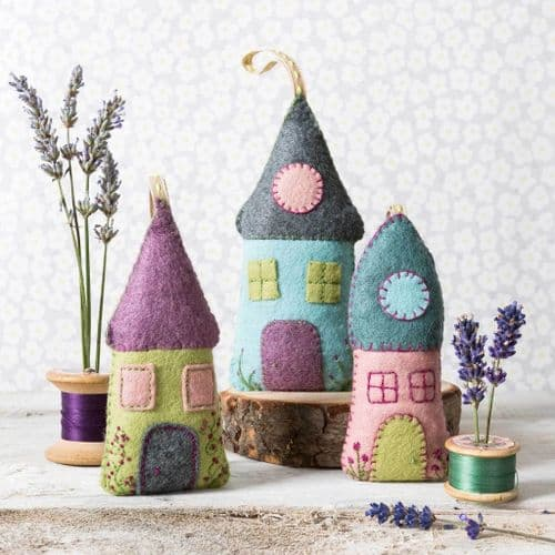 Lavender Houses Kit