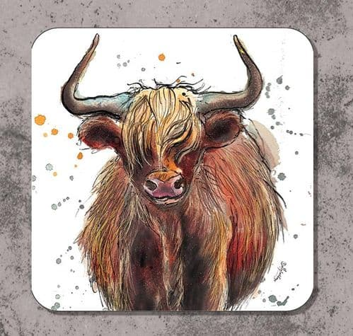Highand cow placemat