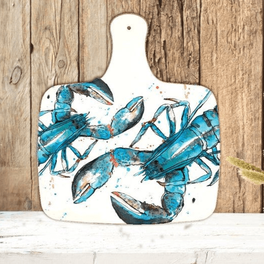 Lobster chopping board - large