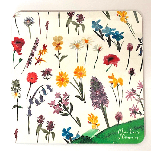 Machair flowers placemat