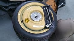 MAZDA MX5 / EUNOS (1998 - 2005 MK 2 / 2.5) - SPACE SAVER SPARE WHEEL KIT