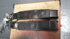MAZDA MX5 EUNOS (MK1 1989 - 97) PAIR OF SEAT BELTS CLASPS / STALKS - LONG TYPE