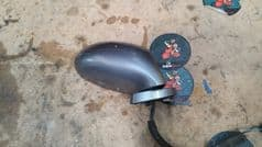 MAZDA MX5 EUNOS (MK2 1998 - 2005) RIGHT HAND MIRROR / RHS / OFF SIDE / GREY