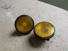 MAZDA MX5 EUNOS (MK2 1998 - 2005) TWO x ORANGE FRONT SIDE INDICATORS NB NBFL NC