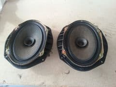 MAZDA MX5 (MK2 1998 - 2005) PAIR OF ORIGINAL MAZDA FIT DOOR SPEAKERS  BOTH SIDES