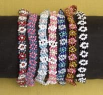 Bead Bracelet - Assorted Colours