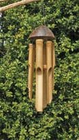 Coconut/Bamboo Windchime - Various Sizes