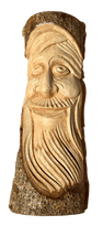 Laughing Green Man - Various Sizes