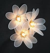 Sunflower Fairy Lights - White