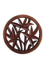 Wooden Bamboo Plaque